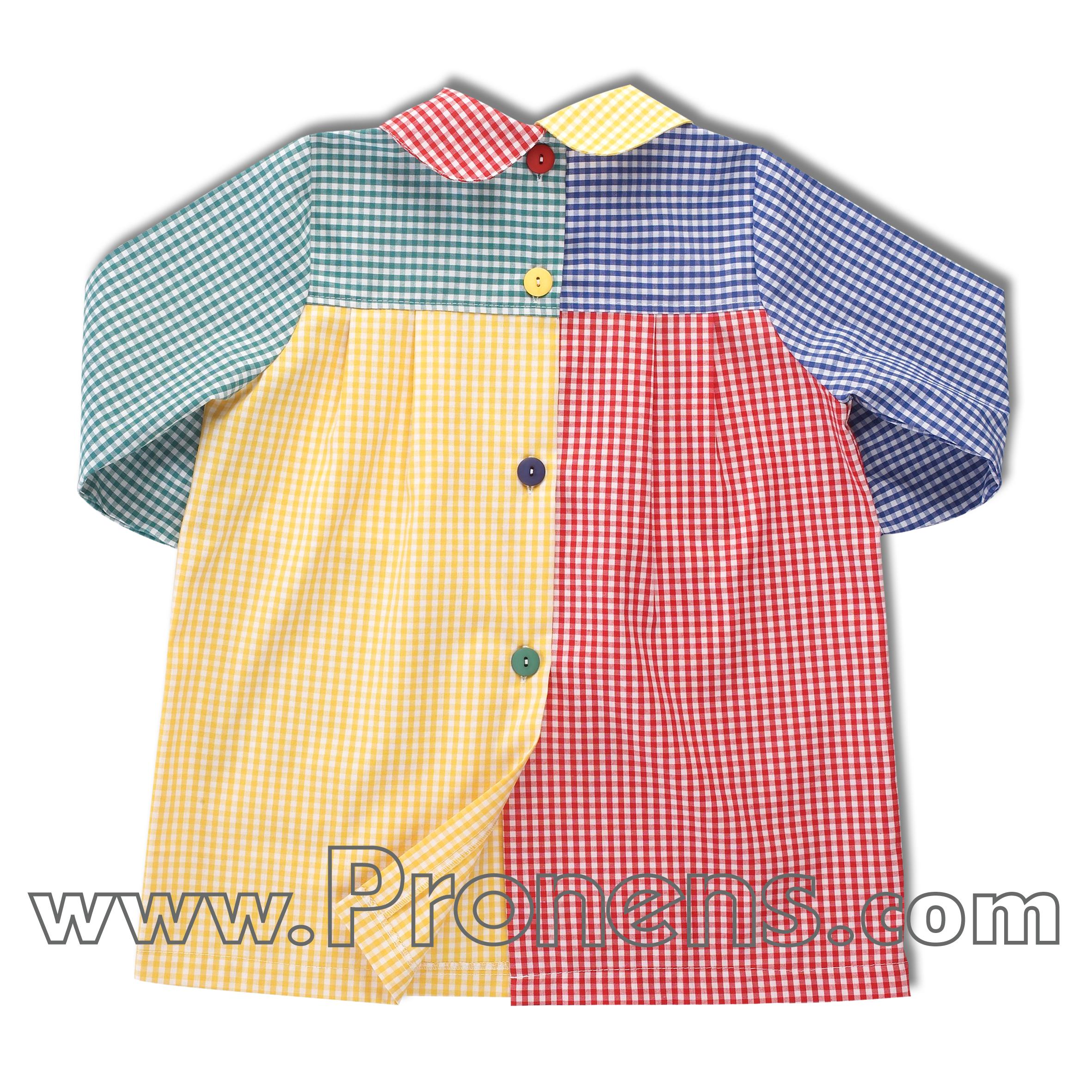 Batas babys escolares patchwork uniformes escolares - Babis escolares carrefour ...