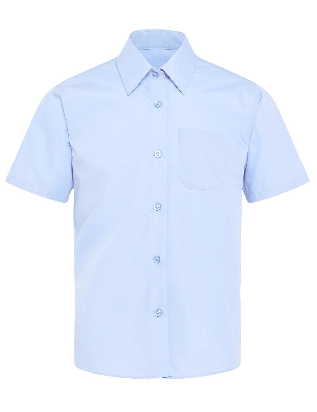 a808e6c5ce966 ... Camisa escolar azul manga corta - camisas escolares Pronens ...