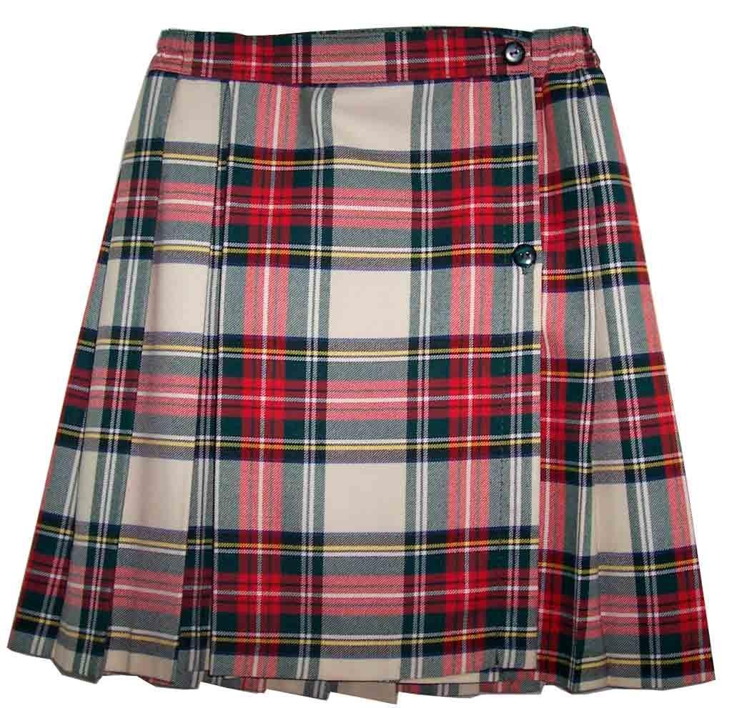 Resultado de imagen para faldas de cuadros colegio