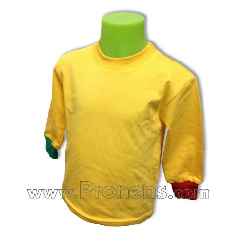 Fabricació de samarretes escolars per escoles i guarderies.