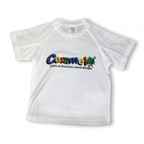 Camiseta infantil técnica para escuelas infantiles y colegios