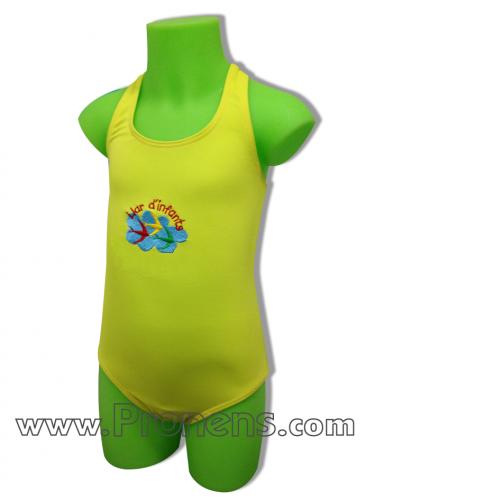 Bañadores infantiles ersonalizados para la escuela infantil y la guardería