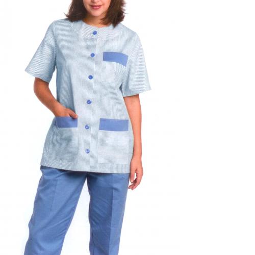 Casaca limpieza para personal limpieza de colegios, hospitales