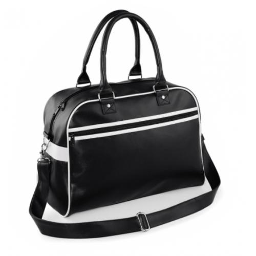 Bolsa deporte retro negro - Bolsas deporte personalizadas Pronens
