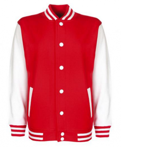 Chaqueta universitaria roja - Chaqueta universitaria Pronens