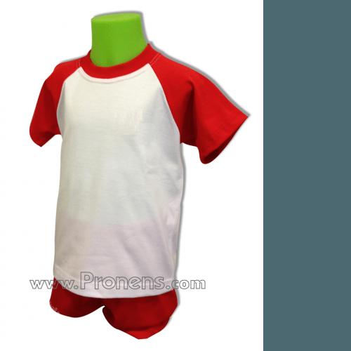 Conjunto verano escolar bicolor - uniformes guarderias escolares