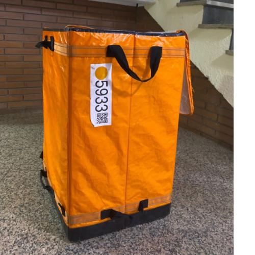 Fabricante de mochilas para empresas de reparto de mensajería delivery personalizadas