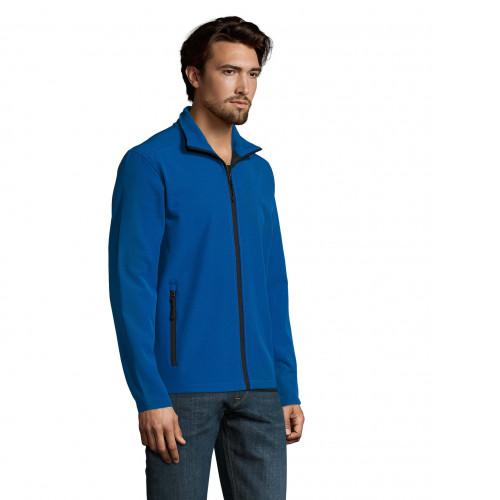 Chaqueta de Softshell personalizada azul royal