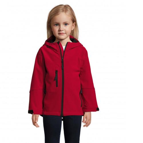 Softshells personalizados para empresas y colegios - rojo