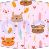 Fabricante mascarilla infantil lavable rosa boho chic Ref.03.130019 - mascarillas higiénicas Pronens