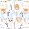 Fabricante mascarilla infantil lavable blanca animales bosque Ref.03.130020 - mascarillas higiénicas Pronens