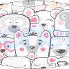 Fabricante mascarilla infantil lavable blanca ositos Ref.03.130021 - mascarillas higiénicas Pronens