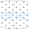 Fabricante mascarilla higiénica lavable blanca topos negros Ref.03.130048 - Mascarillas higiénicas Pronens UNE0065