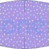 Fabricante mascarilla higiénica lavable malva estrellas Ref.03.130049 - Mascarillas higiénicas Pronens UNE0065