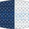 Fabricante mascarilla higiénica lavable azul y blanca Ref.03.130055 - Mascarillas higiénicas Pronens UNE0065