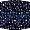 Fabricante mascarilla higiénica lavable negra Stars Ref.03.130060 - Mascarillas higiénicas Pronens UNE0065
