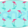 Mascarilla higiénica lavable flamencos Ref.03.130090 - Mascarillas higiénicas Pronens UNE0065