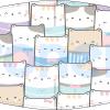 Mascarilla higiénica lavable infantil Gatos Ref.03.130096 - Mascarillas higiénicas Pronens UNE0065