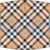 Mascarilla higiénica lavable tartán Beige Ref.03.130101 - Mascarillas higiénicas Pronens UNE0065