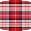 Mascarilla higiénica lavable uniforme colegial rojo Ref.03.130104 - Mascarillas higiénicas Pronens UNE0065
