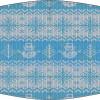 Mascarilla higiénica lavable blanca jersey navideño Ref.03.130109 - Mascarillas higiénicas lavables Pronens UNE0065