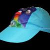 Gorra infantil escolar turquesa personalizada - Gorras infantiles escolares Pronens