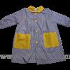 batas babis escolares botones  - prendas escolares 2