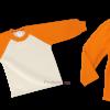 Chándal escolar Modelo Promoción Naranja - PRONENS, Fabricante textil de chandals escolares para colegios, guarderías y escuelas infantiles