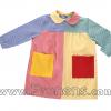batas babys escolares patchwork  - uniformes escolares