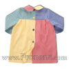batas babys escolares patchwork  - uniformes escolares 1