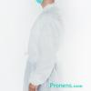 Lateral bata sanitaria desechable tejido no tejido 47 gr - batas sanitarias desechables Pronens