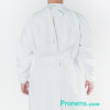 Espalda bata sanitaria impermeable - Batas sanitarias impermeables Pronens