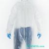 Espalda bata sanitaria impermeable y lavable - Batas impermeables para hospitales Pronens