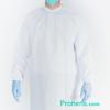 Fabricante de batassanitarias protectoras Impermeables de tela para hospitales, residencias, laboratorios, farmacias - Batas impermeables fabricadas en España