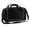 Medidas Bolsa deporte taquilla negro y amarillo - Bolsas deporte personalizadas Pronens