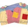 batas babys escolares patchwork  - uniformes escolares 2