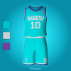 Fabricante de equipaciones escolares deportivas baloncesto Modelo 4 - Equipaciones deportivas Pronens Minmor