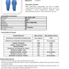 Ficha técnica Bata de aislamiento desechable confeccionada en tejido no tejido impermeable y resistente. Con espalda completa