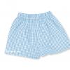 Pantalón cuadros azul celeste  - Uniformes guardería Pronens