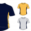 Camiseta escolar personalizada para uniformes escolares de colegios Ref.014208 - Camisetas escolares Pronens