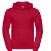 Sudadera capucha roja personalizada - Uniformes educadoras infantiles Pronens