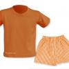 Conjunto verano naranja escuela infantil - Uniformes escuela infantil Pronens