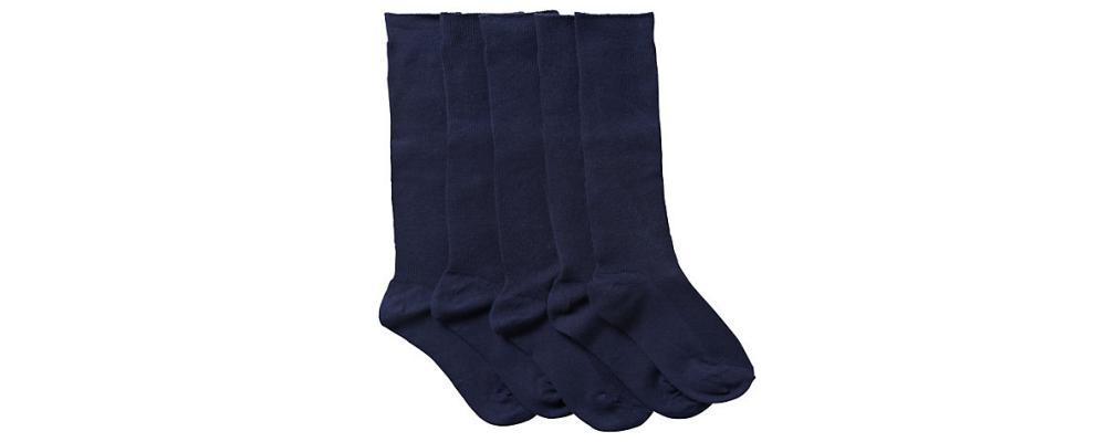 calcetín escolar marino - Uniformes escolares Pronens