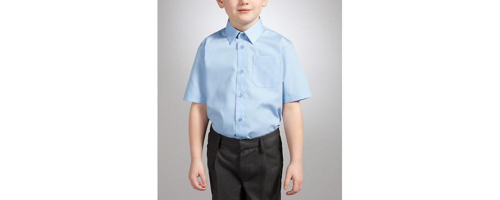 camisa corta colegial  - Uniformes escolares Pronens