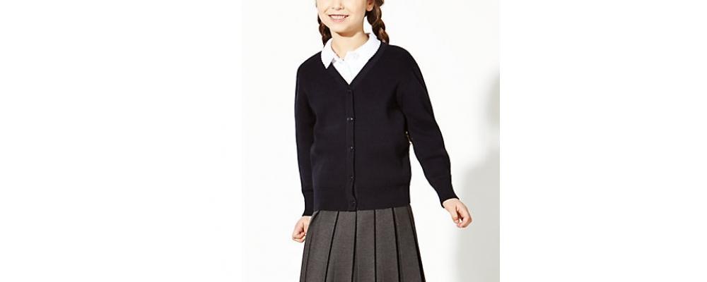 chaqueta colegial marino- Uniformes escolares Pronens