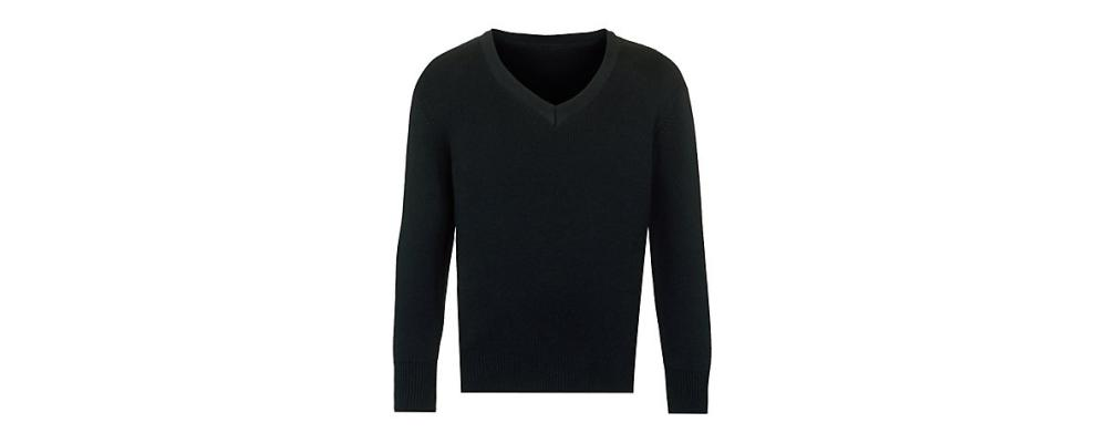 Jersey escolar negro - uniformes escolares Pronens