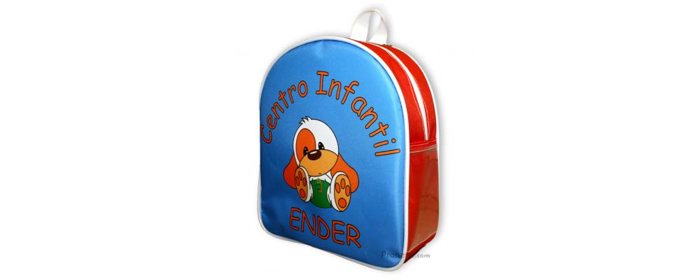 Fabricación de mochilas escolares personalizadas para la guardería