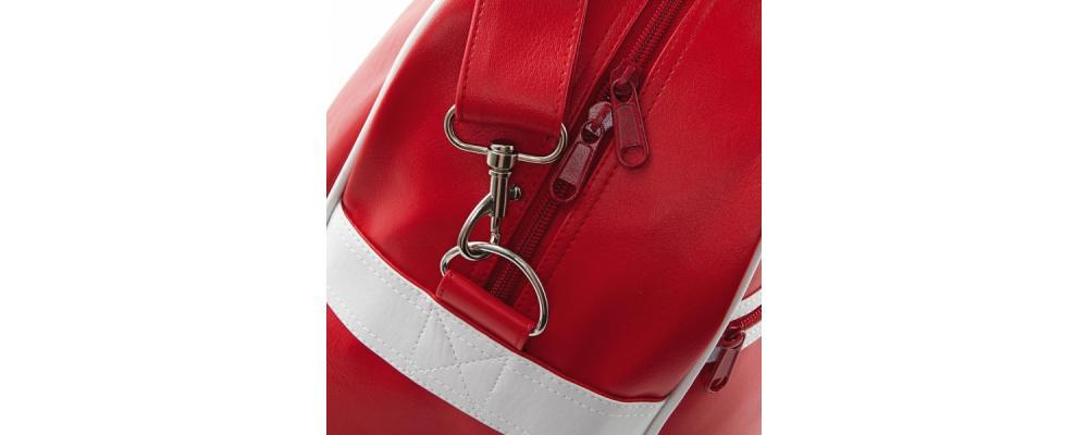 detalle Bolsa deporte retro - Bolsas deporte personalizadas Pronens