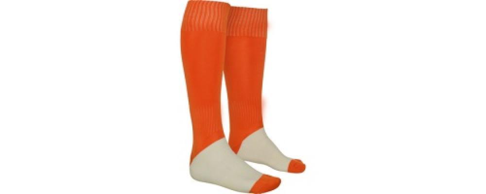 orange Fabricant textile de Chaussettes de sport personnalisées pour écoles et clubs sportifs en France - PRONENS
