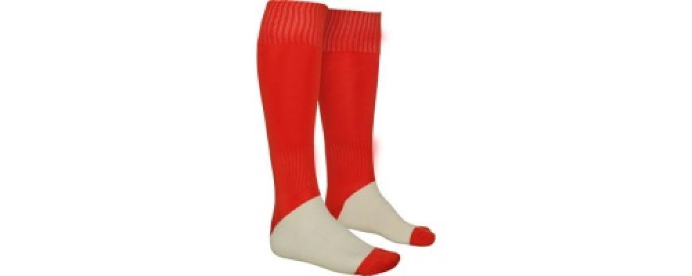rouge Fabricant textile de Chaussettes de sport football personnalisées pour écoles et clubs sportifs en France - PRONENS